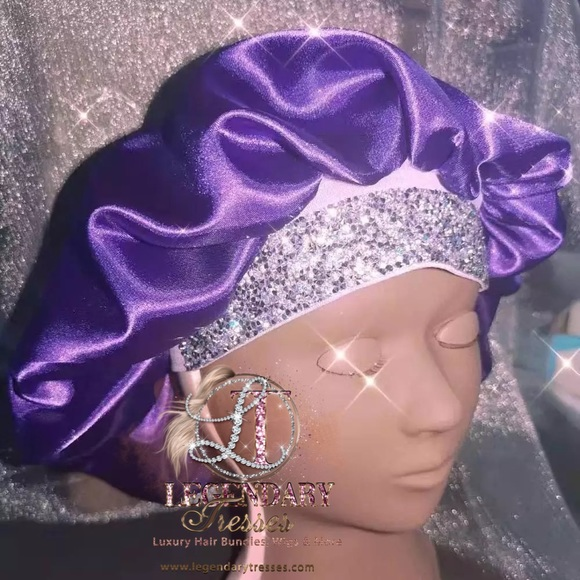 Blinged out Bonnets! Sleep in style😍